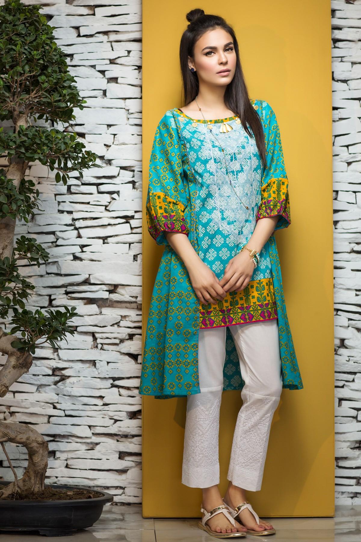 Latest pakistani summer dress design 2018