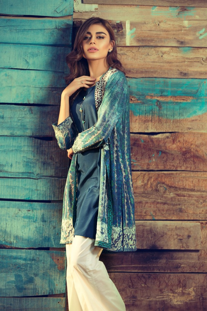 Gul Ahmed Latest Women Summer Pret Dresses Collection 2016-2017 (10)