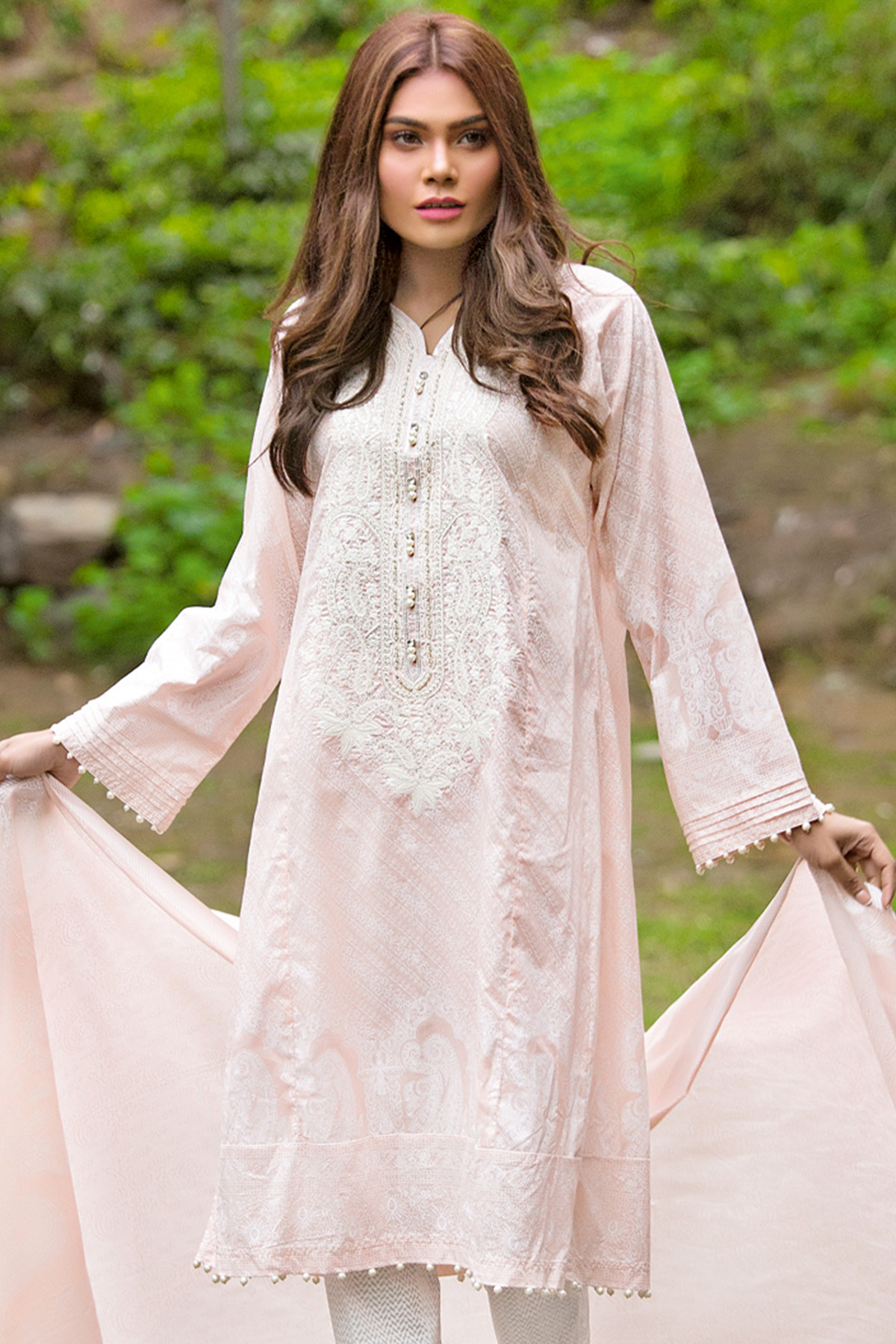 Gul Ahmed Latest Summer Embroidered Lawn Dresses Collection 2017-2018