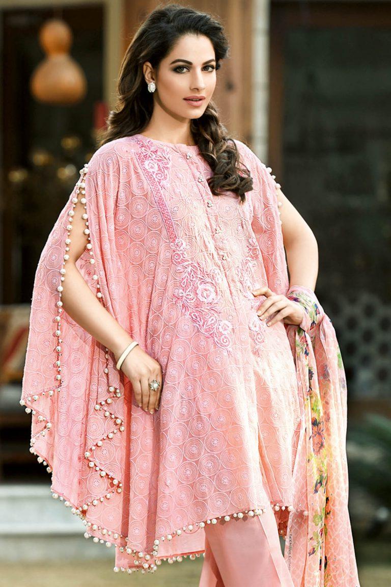 Gul Ahmed Summer Formal Dresses Silk & Chiffon Premium ...