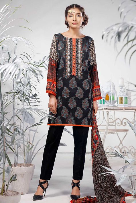 Jaquard Lawn- Warda Latest Summer Dresses Collection 2017-2018 (7)