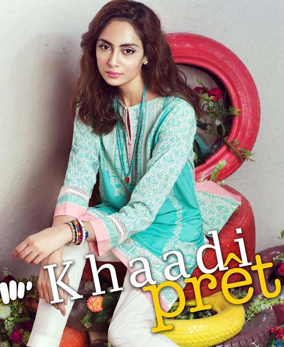Khaadi Latest Women Summer Pret Dresses Collection 2016-2017 (10)