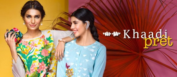 Khaadi Latest Women Summer Pret Dresses Collection 2016-2017 (11)