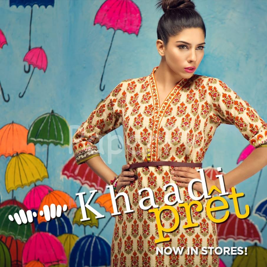 Khaadi Latest Women Summer Pret Dresses Collection 2016-2017 (8)