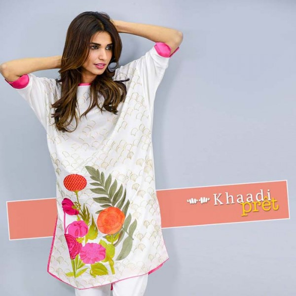 Khaadi Latest Women Summer Pret Dresses Collection 2016-2017 (9)