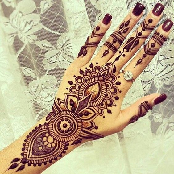 latest arabic mehndi designs collection 2018 2019 for hands feet. Black Bedroom Furniture Sets. Home Design Ideas