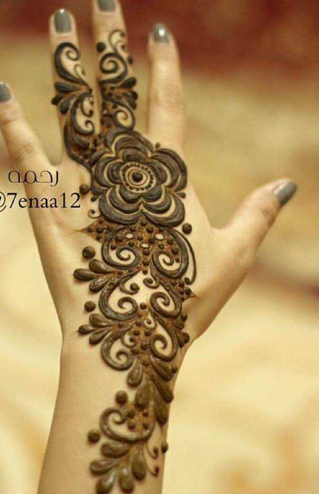 Latest Arabic Mehndi Designs Collection 2020 2021 For Hands Feet