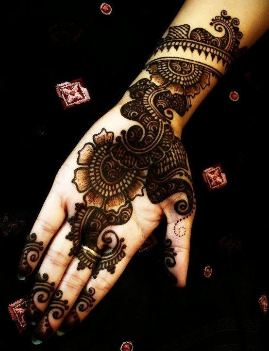 Latest Arabic Mehndi Designs Collection 2018 2019 For Hands Feet