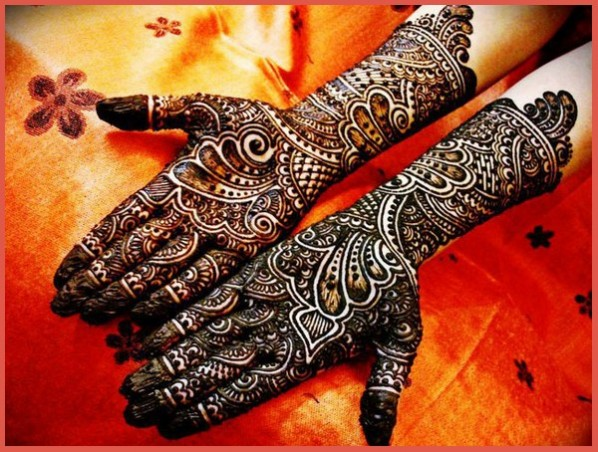 Latest Arabic Heena Mehndi Designs Collection 2016-2017 (27)