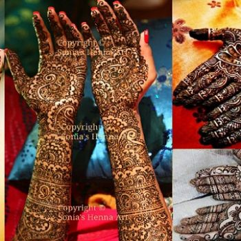 Latest Arabic Mehndi Designs Collection 2020-2021 for Hands Feet