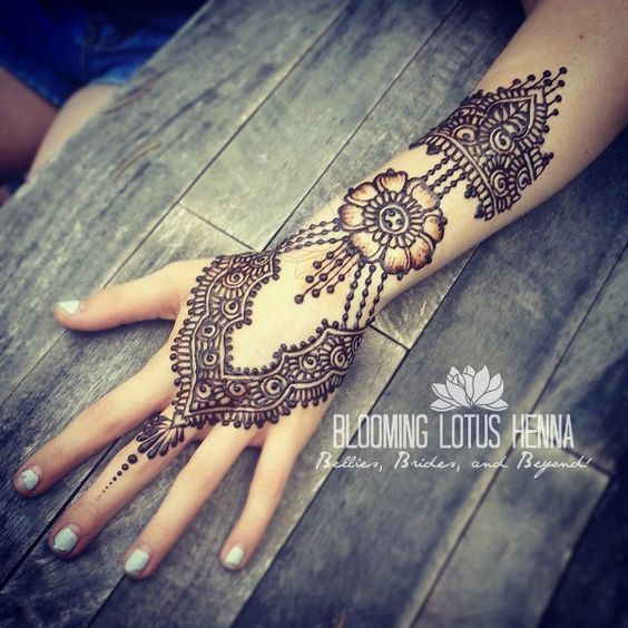 Latest arabic mehndi designs collection 2017 2018 for hands feet