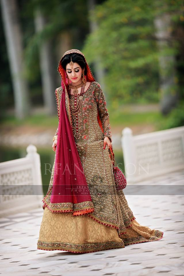 Best indian bridal dresses 2017 high cut wedding dresses for Current wedding dress trends