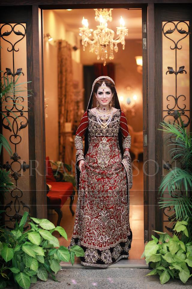 Latest Bridal Barat Wedding Dresses Trends 2016-2017 Collection (10)