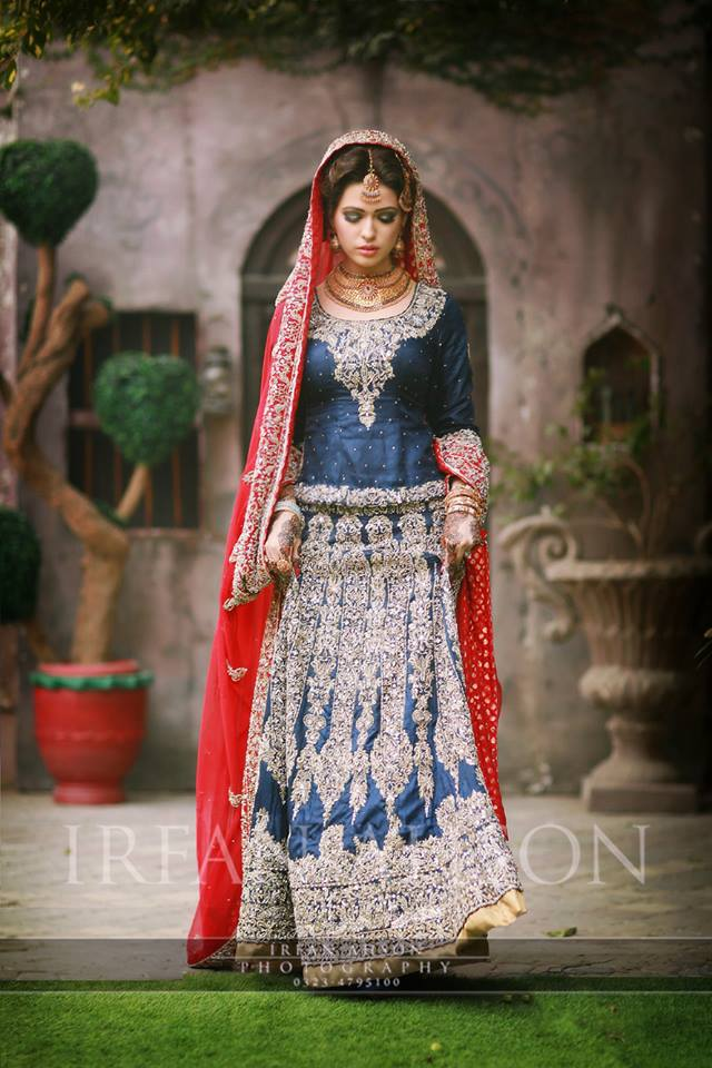 Latest Bridal Barat Wedding Dresses Trends 2016-2017 Collection (19)