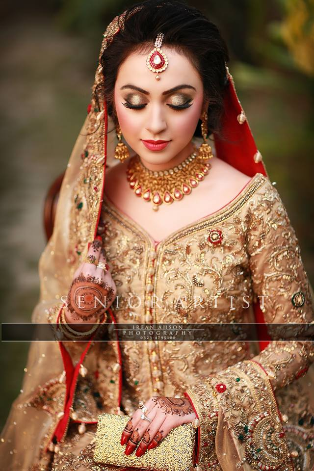 Latest Bridal Barat Wedding Dresses Trends 2016-2017 Collection (3)