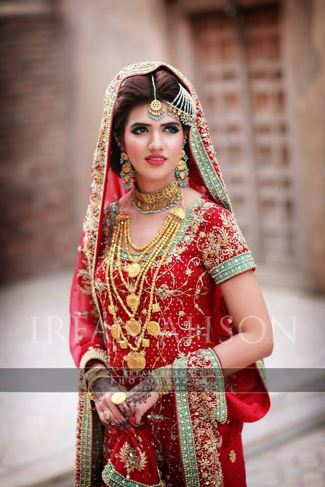 Latest Bridal Barat Wedding Dresses Trends 2016-2017 Collection (4)
