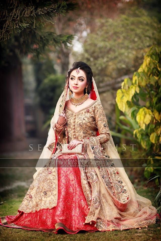 Latest Bridal Barat Wedding Dresses Trends 2016-2017 Collection (5)