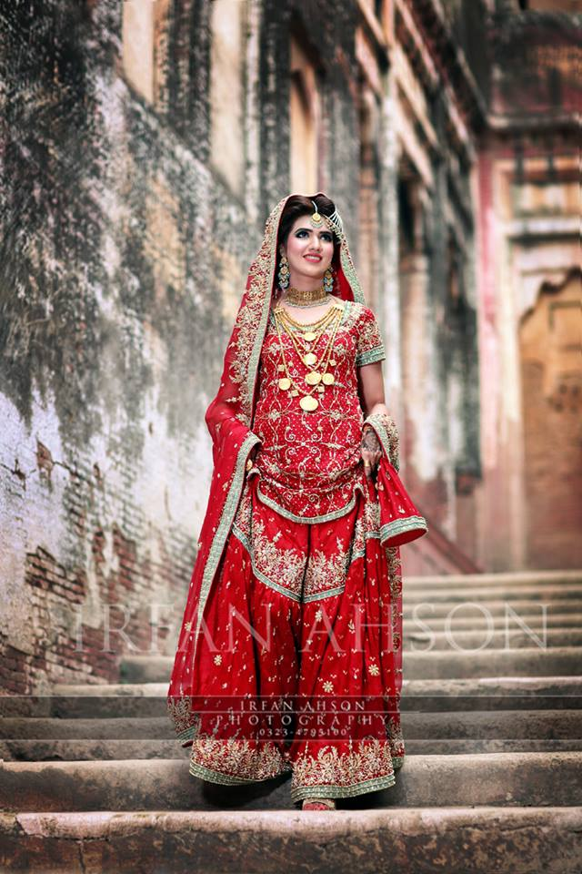 Latest Bridal Barat Wedding Dresses Trends 2016-2017 Collection (8)