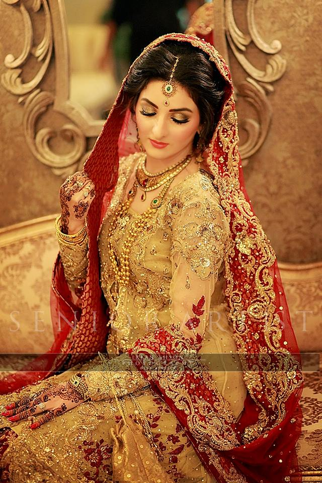 Latest Bridal Barat Wedding Dresses Trends 2016-2017 Collection (9)