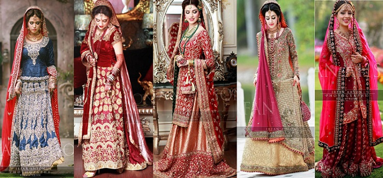 Latest Bridal Barat Wedding Dresses Trends 2016-2017 Collection