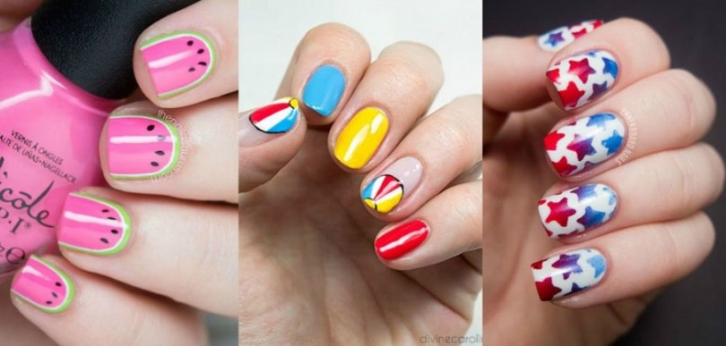 Nails Art: Latest Summer Nail Art Designs Collection 2016-2017