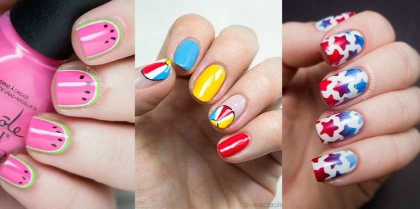 Latest Summer Nail Art Designs & Trends Collection 2016-2017 (17)