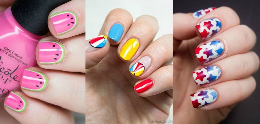 Latest Summer Nail Art Designs Trends Collection 2019 2020