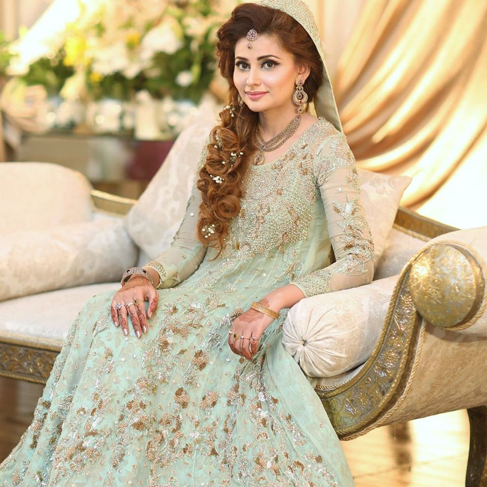 Latest Walima Dresses Designs & Trends Collection 2017-2018
