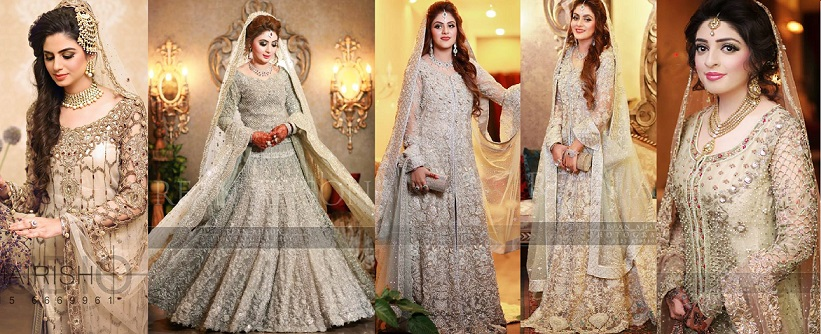 070c4aad77 Latest Walima Dresses Designs & Trends Collection 2016-2017 ...