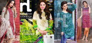 Nishan Linen Summer Lookbook 2016-2017 Lawn Suits Designs