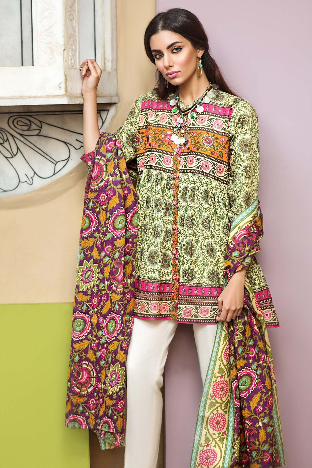 Printed- Khaadi Latest Summer Lawn Dresses Collection 2017-2018 (4)