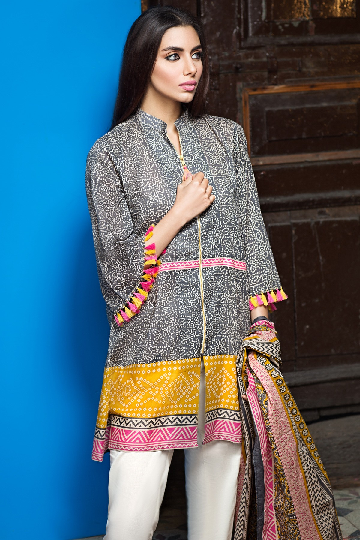 Khaadi Latest Summer Lawn Dresses Designs Collection 2017 2018