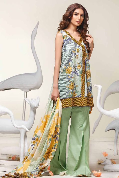 Printed Lawn- Warda Latest Summer Dresses Collection 2017-2018 (4)