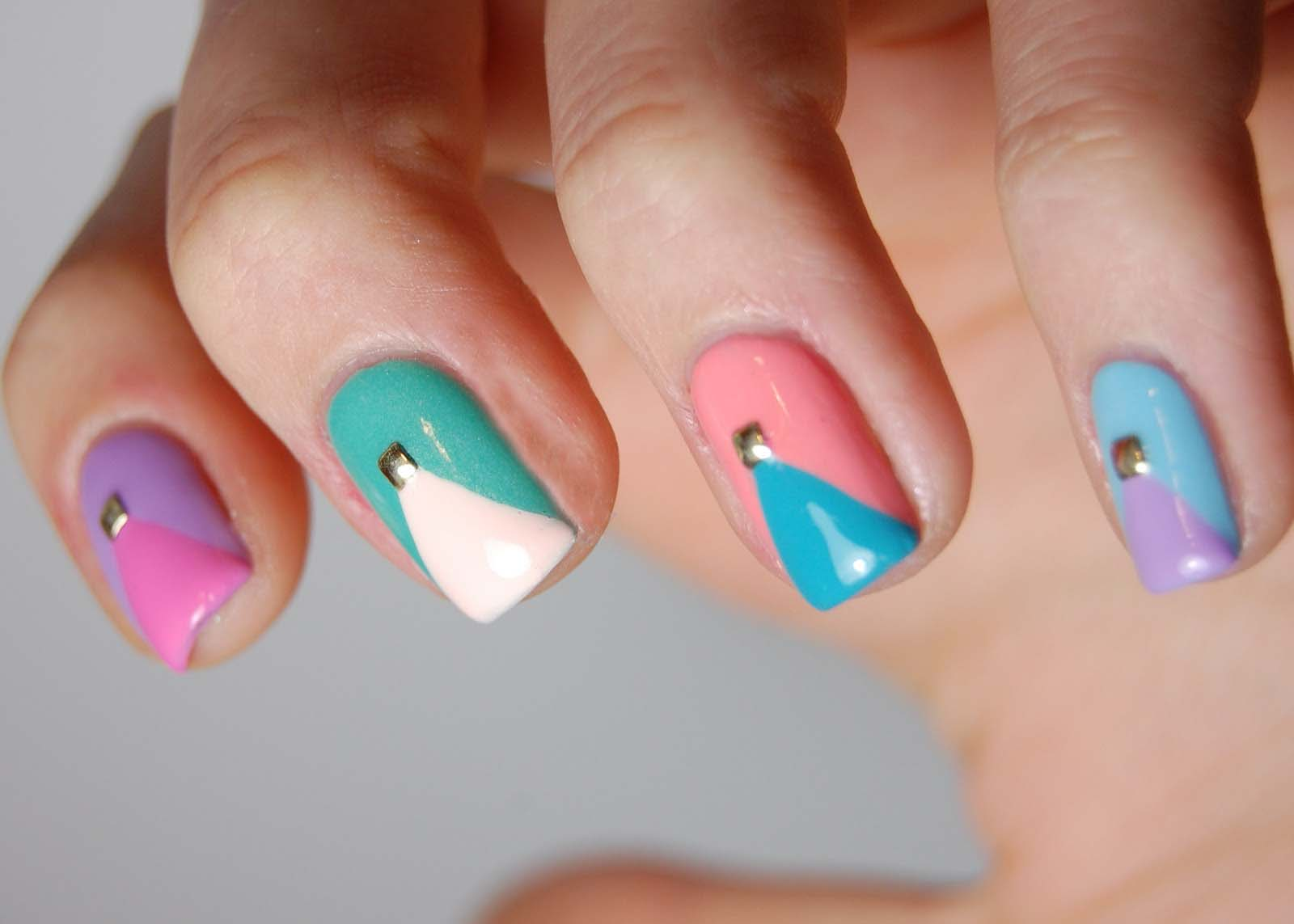 Spring 2017 nail design trends : Pin nail art trends for spring summer pink glazes color