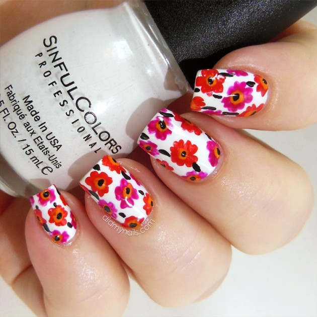Top 10 Best Spring-Summer Nail Art Colors & Trends 2016-2017 (6)