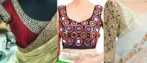 Top 5 Most Popular Embroidered Sarees Blouses Trends for Women