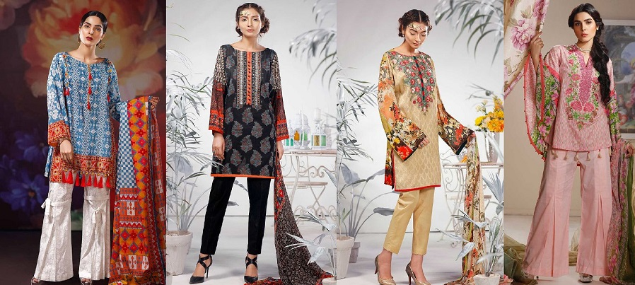 Warda Latest Summer Dresses Printed & Embroidered Collection 2017-18