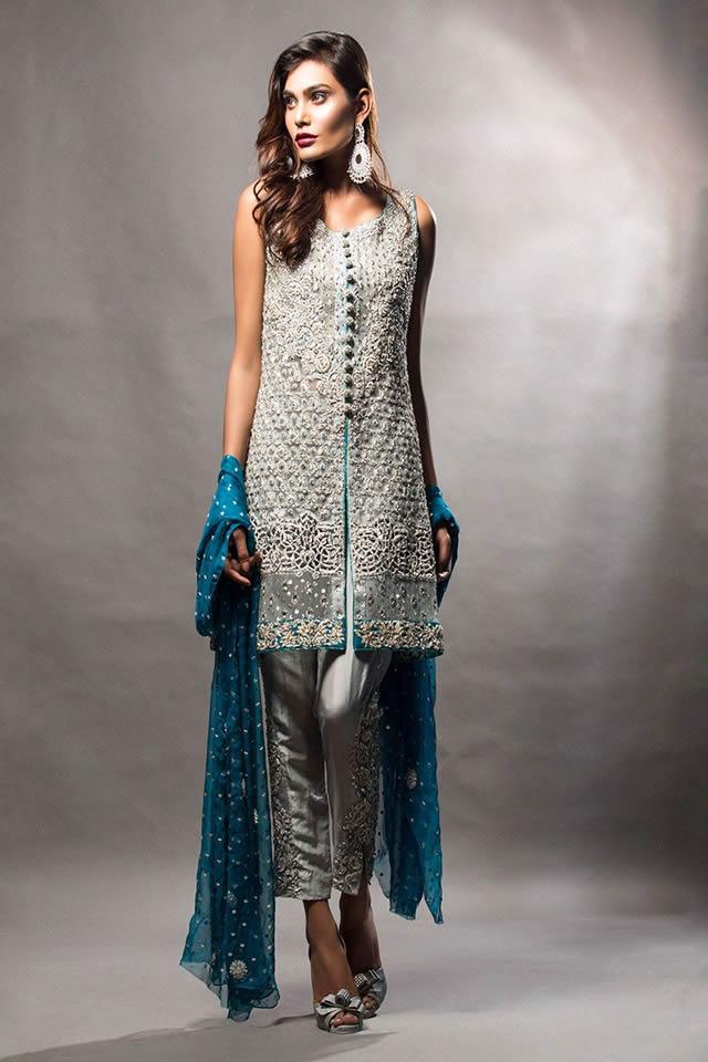 بهترین مدل های لباس مجلسی زنانه پاکستانی 2017