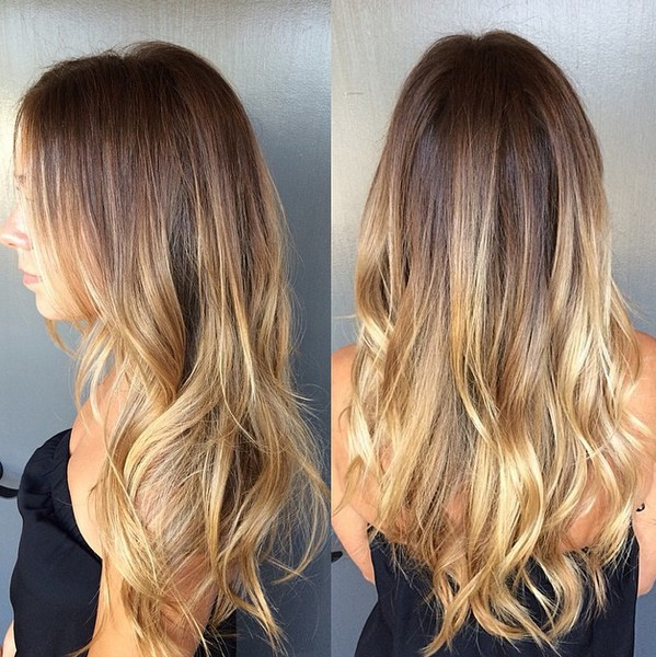 for mid summers as the light tips add a refreshing effect to your hair