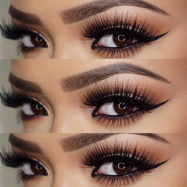 ACCENTUATE WITH LINER AND MASCARA