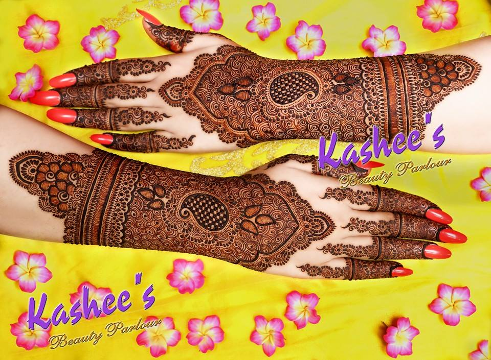 Beautiful Kashee's Mehndi Designs Collection 2016-2017 for Girls  (1)