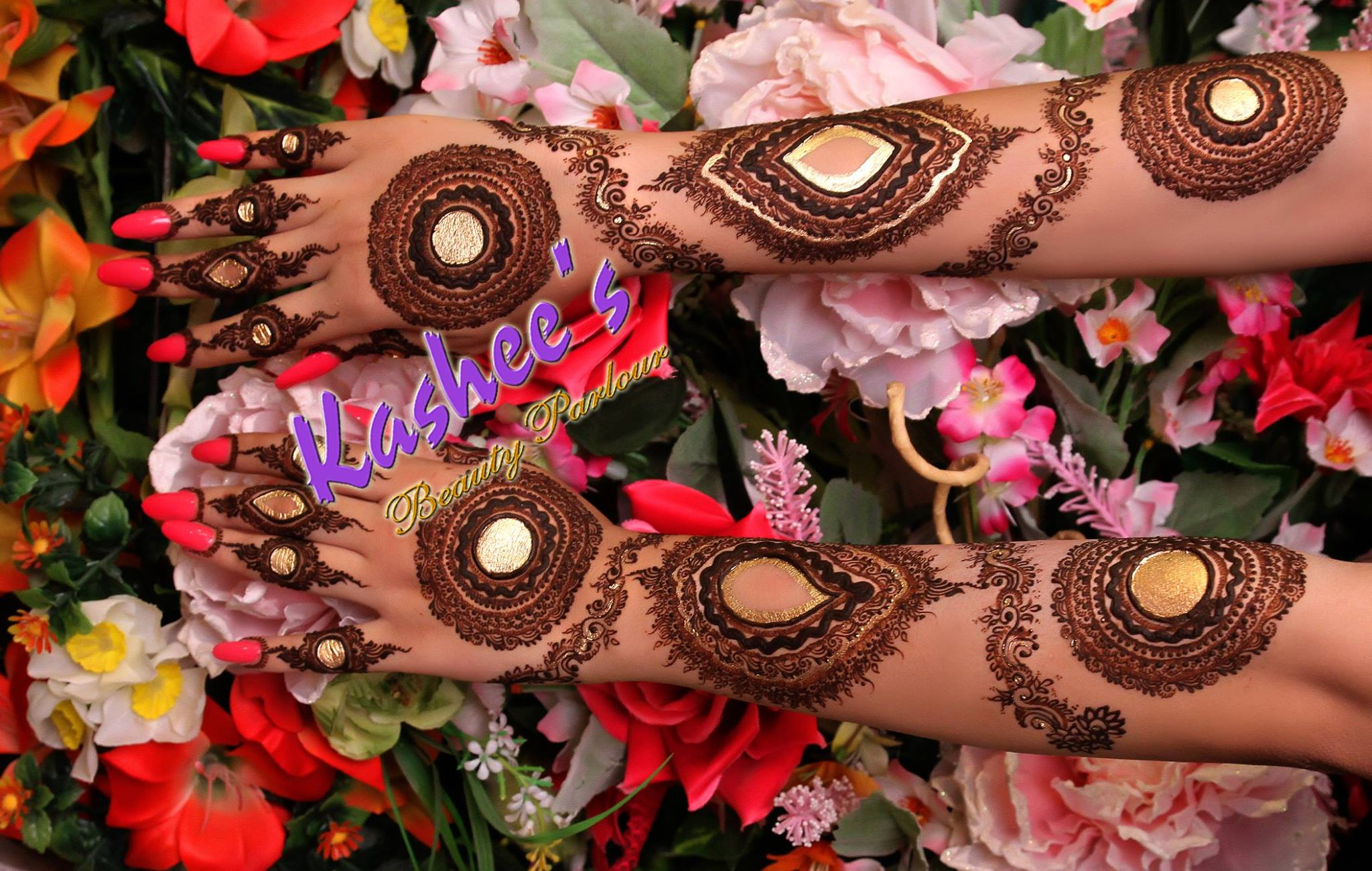 Beautiful Kashee's Mehndi Designs Collection 2016-2017 for Girls (10)