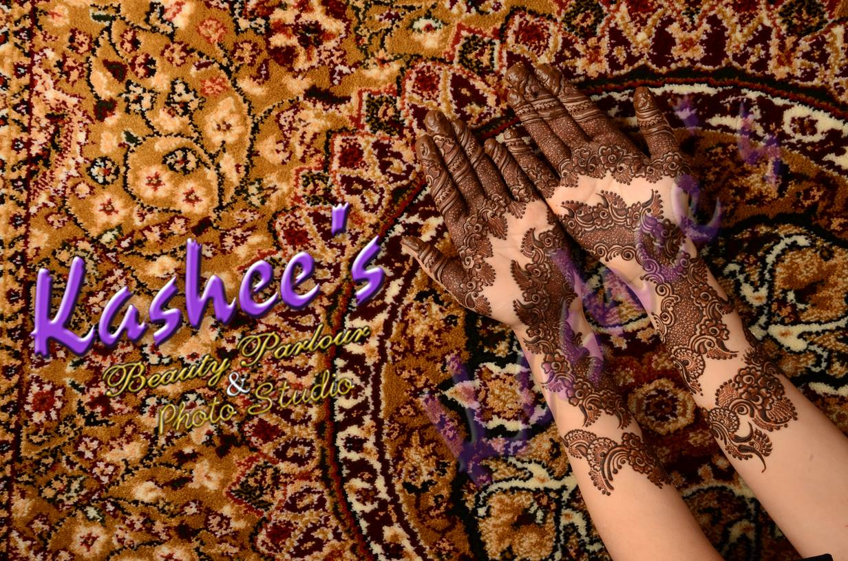 Beautiful Kashee's Mehndi Designs Collection 2016-2017 for Girls  (11)