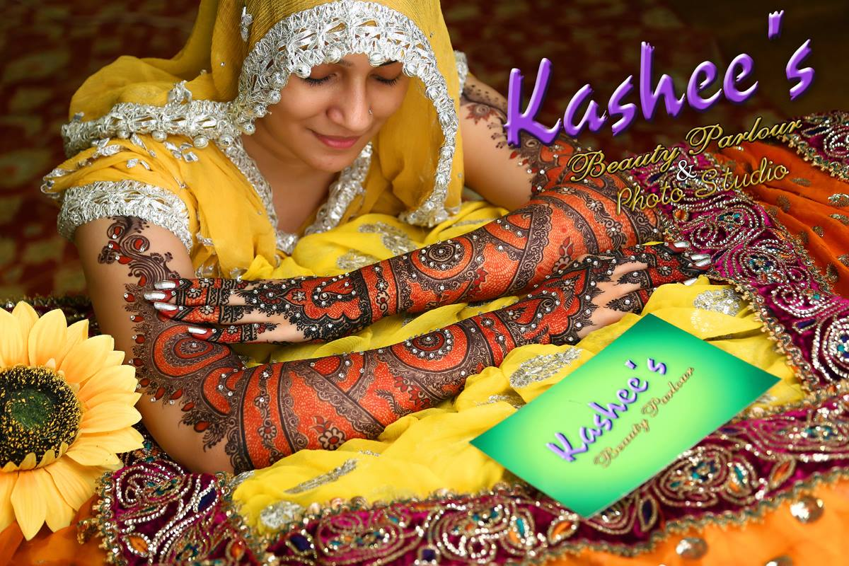 Beautiful Kashee's Mehndi Designs Collection 2016-2017 for Girls  (13)