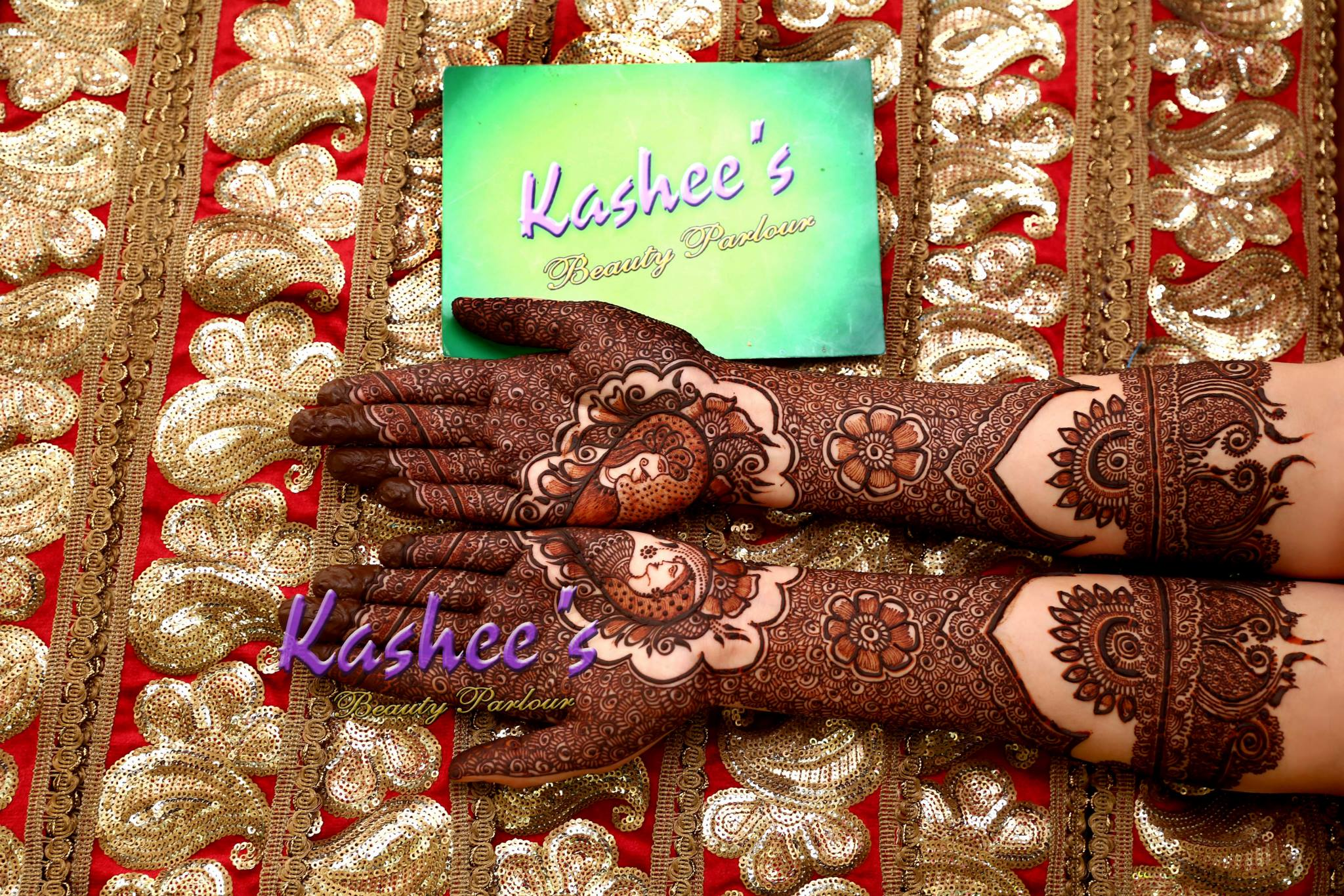 Beautiful Kashee's Mehndi Designs Collection 2016-2017 for Girls (19)