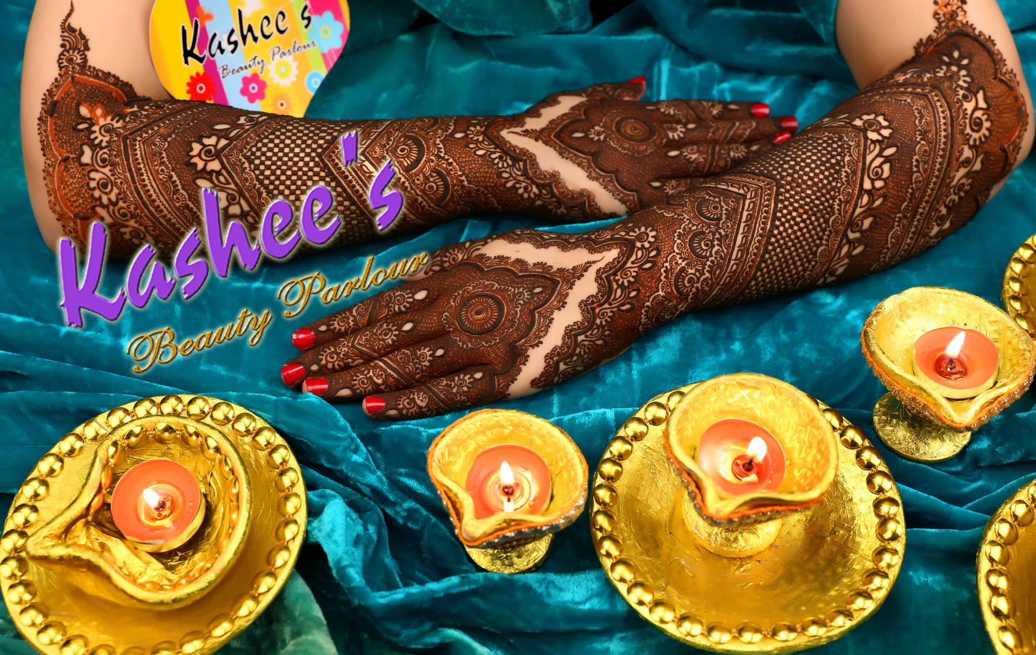 Beautiful Kashee's Mehndi Designs Collection 2016-2017 for Girls (20)