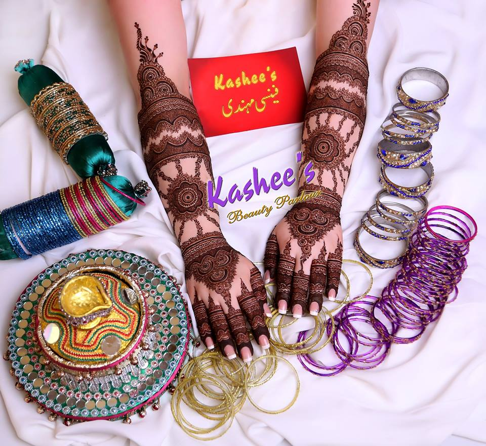 Beautiful Kashee's Mehndi Designs Collection 2016-2017 for Girls (22)