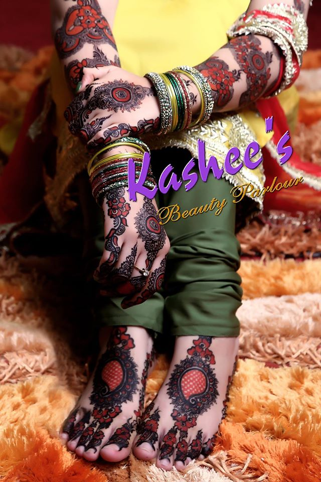 Beautiful Kashee's Mehndi Designs Collection 2016-2017 for Girls  (23)