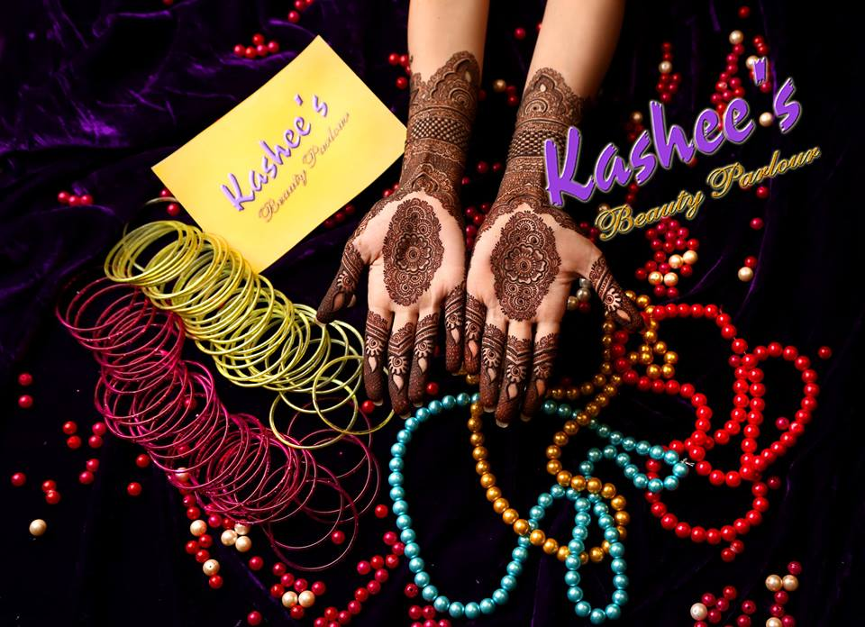 Beautiful Kashee's Mehndi Designs Collection 2016-2017 for Girls (25)