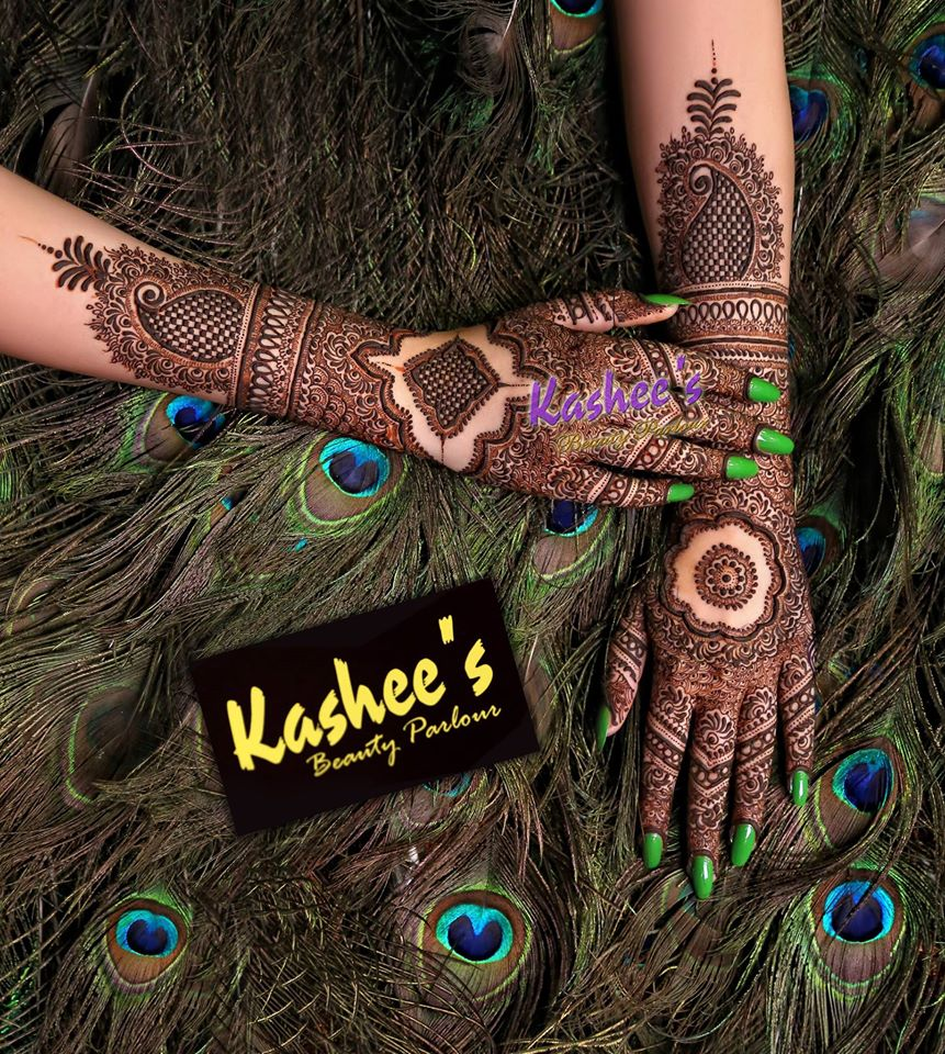 Beautiful Kashee's Mehndi Designs Collection 2016-2017 for Girls (26)